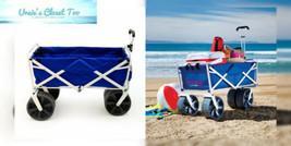 Mac Sports Heavy Duty Collapsible Folding All Terrain Utility Beach Wago... - $147.86