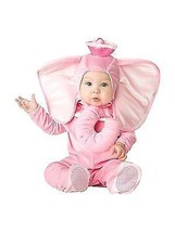 Incharacter Pink Elephant Trunk Infant Costume Halloween Cute Baby Size 16005 - $24.99