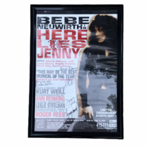 Here Lies Jenny Bebe Neuwirth Off Broadway Cast Signed Poster Window Car... - $116.53