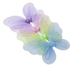 Girls Butterfly, Fairy, And Angel Wings For Kids. For Garden Parties, Bi... - $21.47