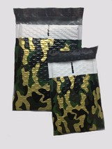 Uneekmailers 100 4x8 Inch Camo Poly Bubble Mailer Self Seal Padded Envel... - $29.99