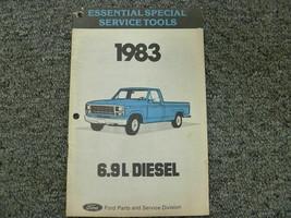1983 Ford 2.2L Diesel PU Essential Special Tools Manual booklet - $6.00