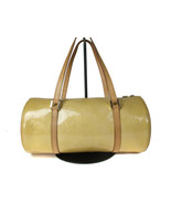 Authentic LOUIS VUITTON BEDFORD Yellow Patent Leather Hand Bag Purse LH1... - $159.00