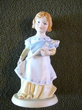 "1981 AVON FIGURINE  ""A MOTHERS LOVE "" HANCRAFTED PORCELAIN COLLECTIBLE, ... - $12.65"