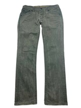 Rock Revival Mens 34x34 Dark Grey Jack Embellished Straight Leg Distress... - $69.00