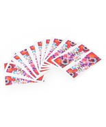 10pcs Flower Nail Decals Art Water Transfer Stickers(#16) - $6.53