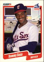 1990 Fleer Baseball Base Singles #510-658 (Pick Your Cards) #548 Sammy Sosa RC  - $4.95