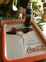 Coca Cola 1971 Hamilton King Serving Tray Sign - $22.90