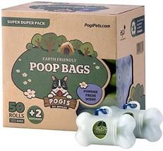 Dog Waste Poop Bags & 2 Dispensers Pet 50 Rolls Biodegradable Leak Proof... - $50.85