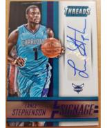Lance Stephenson 2014-15 Panini Threads Signage 89/100 Auto Pacers Horne... - $10.00