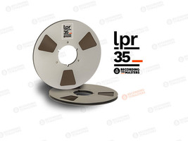"RTM BASF Long Play Reel to Reel Tape LPR35 1/4"" 3600' 1100m 10.5"" Author... - $80.19"