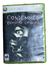 Condemned: Criminal Origins (Microsoft Xbox 360, 2005). With Manual AWESOME GA - $17.83
