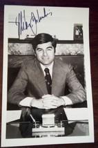 MICHAEL  DUKAKIS  AUTOGRAPHED ~ Signed Vintage B/W Photograph - $34.65