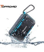 TOPROAD® Portable IP67 Waterproof Bluetooth Speaker Outdoor SportRiding ... - ₹2,503.72 INR