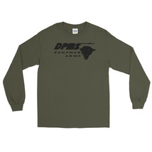 DPMS Panther Arms Black Logo Long Sleeve Shirt 2nd Amendment Pro Gun Rights Tee - $22.49+