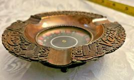 Las Vegas Roulette Wheel Ashtray Souvenir made Japan Vintage cigarette ashtray  image 2