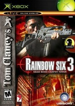 Tom Clancy's Rainbow Six 3 (Microsoft Xbox, 2003) - $8.90