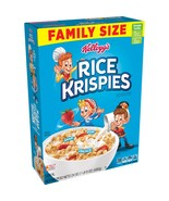 Kellogg's Rice Krispies, Breakfast Cereal, Original, Family Size, 24 Oz - $7.00
