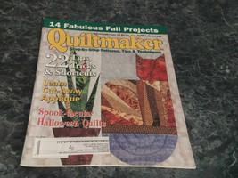 Quiltmaker Magazine Step by Step September October 2003 No 93 Country Baskets Pt - $2.99