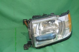 01-03 Infiniti QX4 HID Xenon Headlight Head Light Lamp Driver Side LH - POLISHED image 2