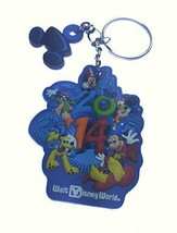 Disney 2014 Character Rubber Keychain - $22.76