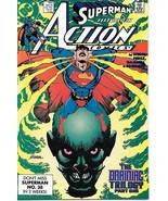 Action Comics Comic Book #647 DC Comics 1989 VERY FINE/NEAR MINT UNREAD - $2.75