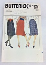 Vtg Sewing Pattern UNCUT Butterick sz 18 20 22 Skirt N3 - $7.95