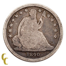 1840-O No Drapery Silver Seated Liberty Dime 10C (Good, G Condition) - $58.41