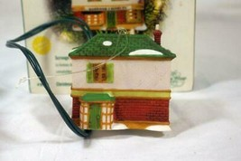 Dept 56 Classic Series Christmas Carol Cottages Scrooge & Marley Countin... - $13.16