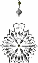 Waterford 2019 SNOWFLAKE WISHES PROSPERITY Ornament New # 40035509 - $113.60