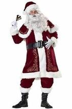 Incharacter Jolly Ol St Nick Santa Claus Holiday Christmas Jingle Xmas Costume - $145.75