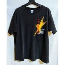 Rare vintage 80s-90s [L.A. Gear Short Sleeve T-shirt] Black/Shoulder wid... - $98.99