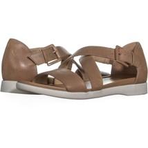 naturalizer Elliott Ankle Strap Flat Sandals  374, Barley, 8.5 US / 38.5 EU - $31.67