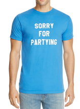 Sub_Urban Riot Sorry for Partying On Tee, Blue, Size L, MSRP $42