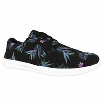 Brand New Mossimo Women's Black Floral Litzy Sneakers Casual Shoes image 1