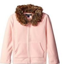 Nautica Girls Pink Fleece Jacket - Size 12, New - $19.80