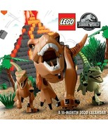 "DateWorks LEGO: Jurassic World 2020 Wall Calendar 16 Months 12""X12"" w - $14.99"