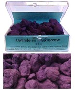 Lavender and Frankincense Incense A tablet of Charcoal enclosed with eve... - $8.99