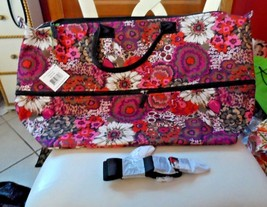 Vera Bradley Lighten up Expandable travel Bag in Rosewood NWT - $55.00