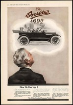 Vintage magazine ad OVERLAND from 1916 Willys Overland Co Toledo Ohio 2 ... - $19.99