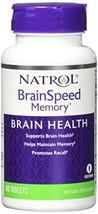 Natrol BrainSpeed Memory Tablets, 60 Count - $15.81