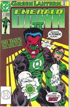 Green Lantern Emerald Dawn II Comic Book #3 DC Comics 1991 NEAR MINT NEW... - $2.99