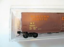 Micro-Trains # 03200510 Western Pacific 50' Standard Boxcar Plug Door N-Scale image 2