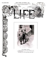 Life Magazine Prints: The Earnest Youth - L. - Oct  1893 - $12.95+
