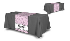 "Custom Table Runner wih logo 30""x72"" customize yours for FREE with any logo image 7"