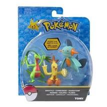 Tomy Pokemon Action Figure 3-pack Grovyle, Combusken, e Marshtomp - $14.79