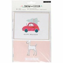 """Crate Paper """"Snow and Cocoa"""" Card Set #379142"""
