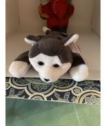 "TY Beanie Babies ""NANOOK"" SIBERIAN HUSKY Dog  - $8.91"