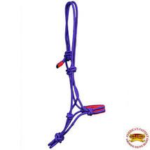 Purple Horse Halter Braided Poly Rope Western Tack Hilason U-A422 - $20.14