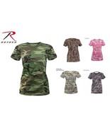 Long Length Woman Camo T-Shirt (5 Colors) - $11.87+